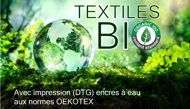 impression sur textiles bio