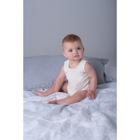 Baby Organic Vest Bodysuit