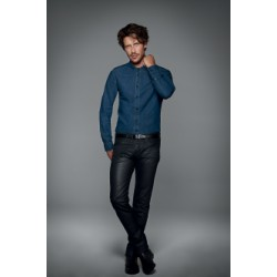 Chemise denim men