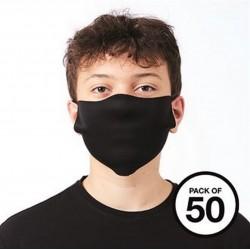 masque Design plusieurs colories (pack 50pièces)
