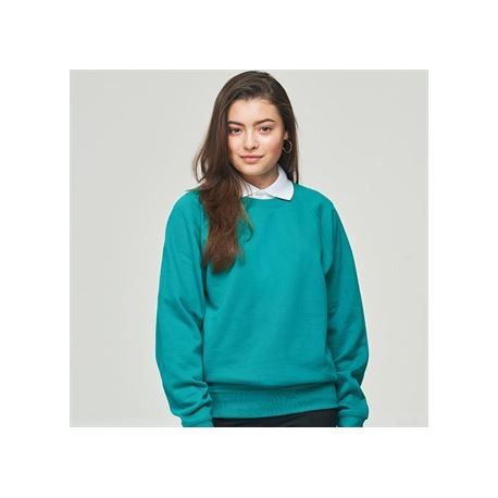 sweat Academy col rond adulte