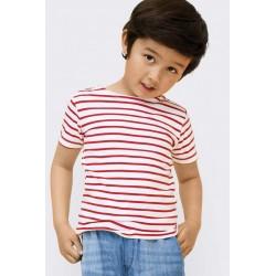 T-shirt marinière enfant